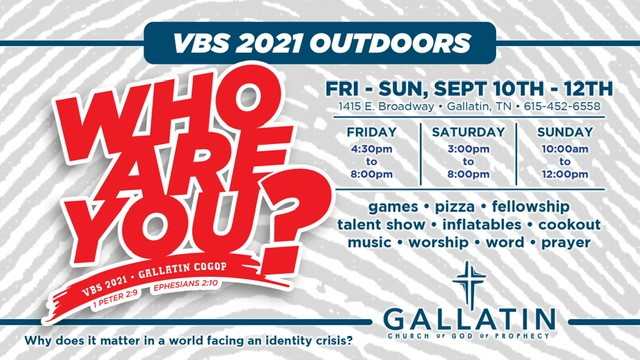 2021 VBS - Who Are You?